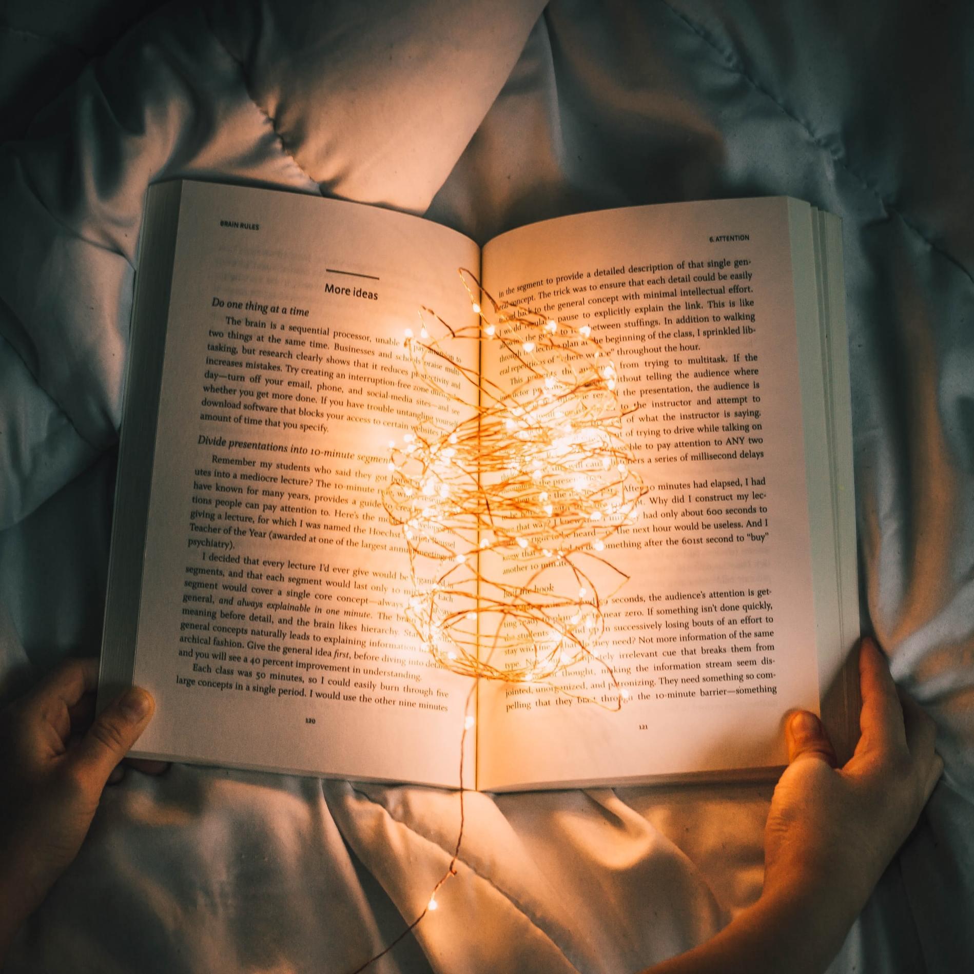 Развиваем привычку читать